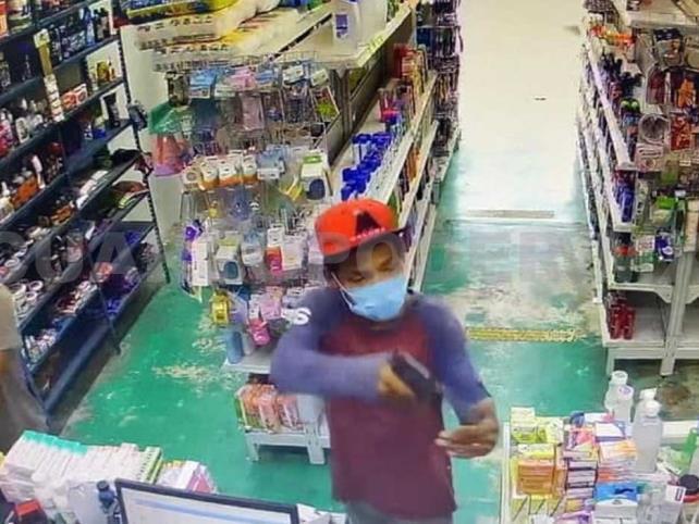"""Armados asaltan farmacia y sus """"amigos"""" los exhiben"""