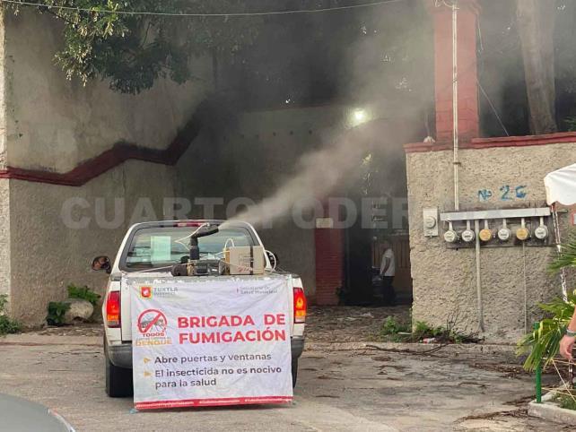Exhortan a no agredir las brigadas de nebulización