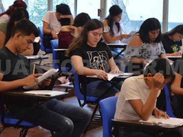 Reprograman examen en  las sedes de la Unach