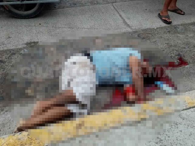 A balazos matan a sujeto en calle de Puerto Madero