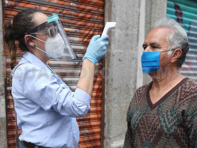 México rebasa los 261 mil contagios por Covid