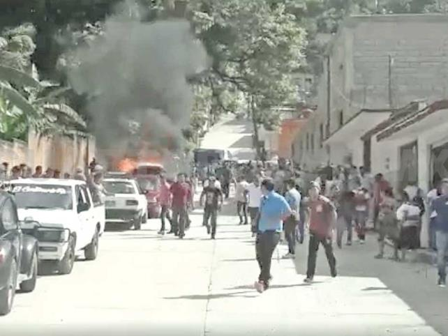 Disputa por rutas genera enfrentamiento en Chilón