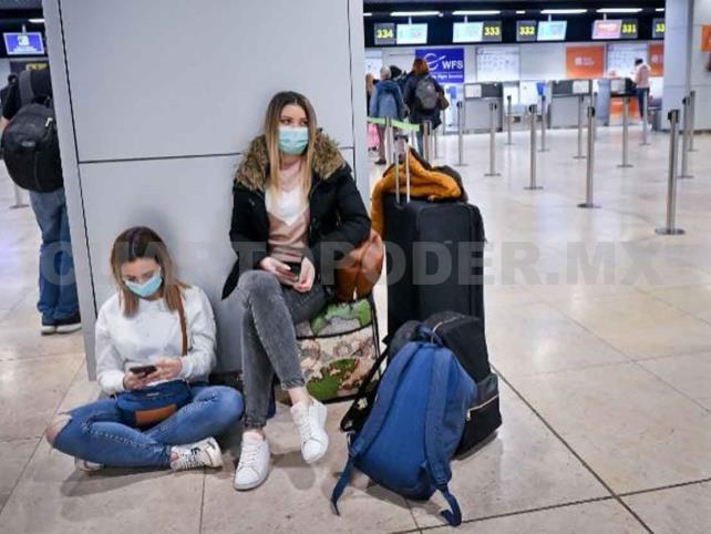 A cuarentena, viajeros provenientes de España