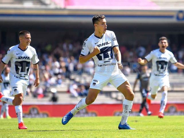 Complicado triunfo de Pumas ante Querétaro