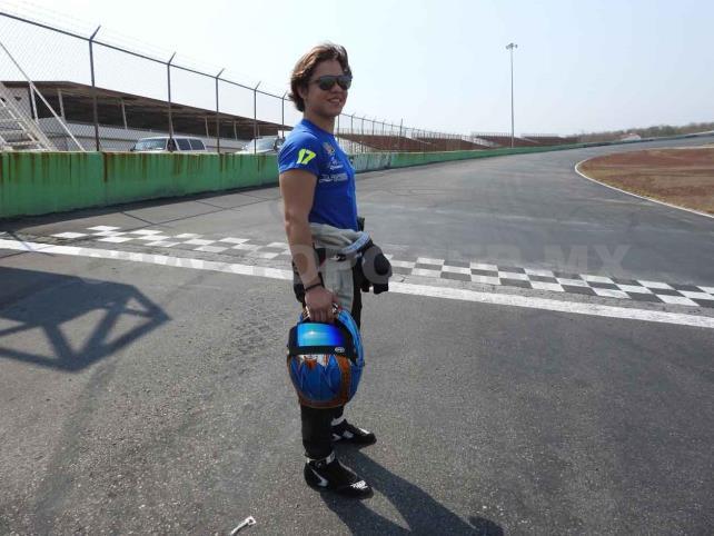 Juan Reyes, listo para correr en casa