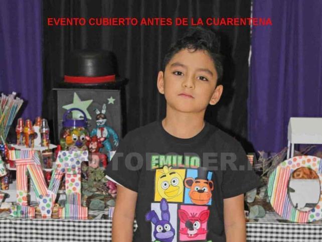 Día especial para Emilio