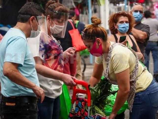 México suma 408 mil contagios y 45 mil decesos