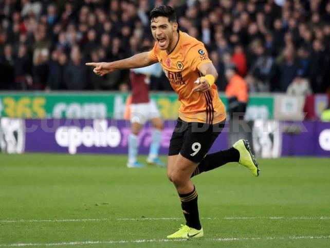 Gol de Raúl Jiménez, nominado como el mejor de la Premier League