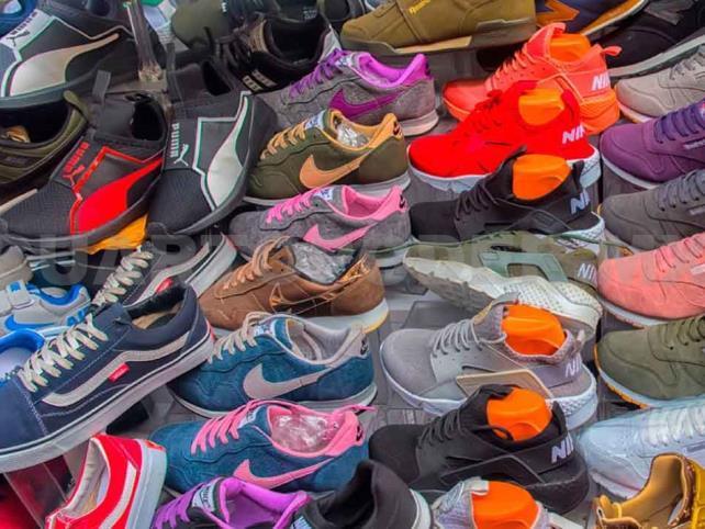 Detectan a chinos importando zapatos para lavar dinero