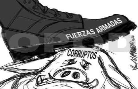 Militares y corrupción