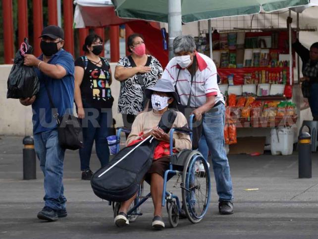 El paso del coronavirus en México y el mundo