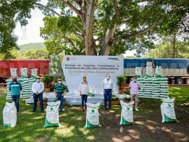 El desarrollo del campo en Chiapas no se detiene