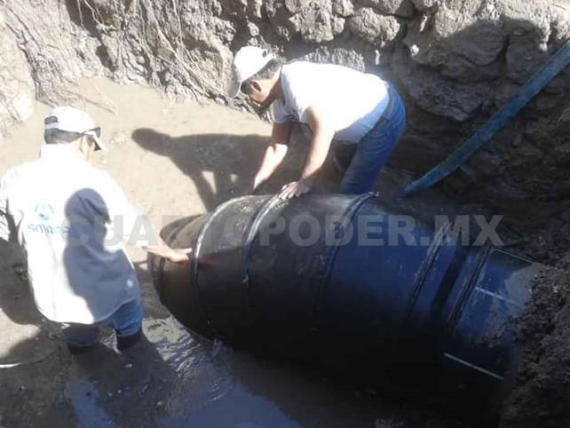 Suspenden suministro de agua en 65 colonias