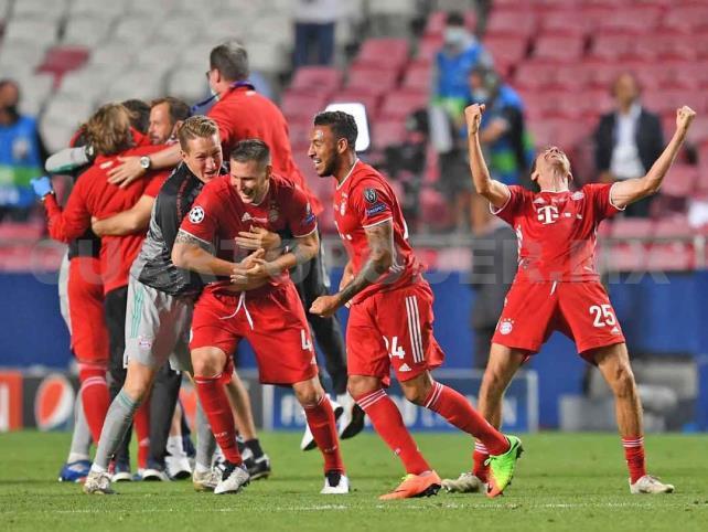 Bayern logra su sexta estrella