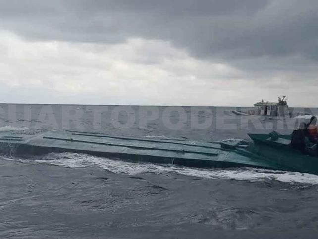 Colombia intercepta submarino del CJNG