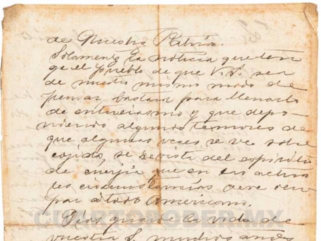 """Liberan documento """"secreto"""" de Hidalgo"""