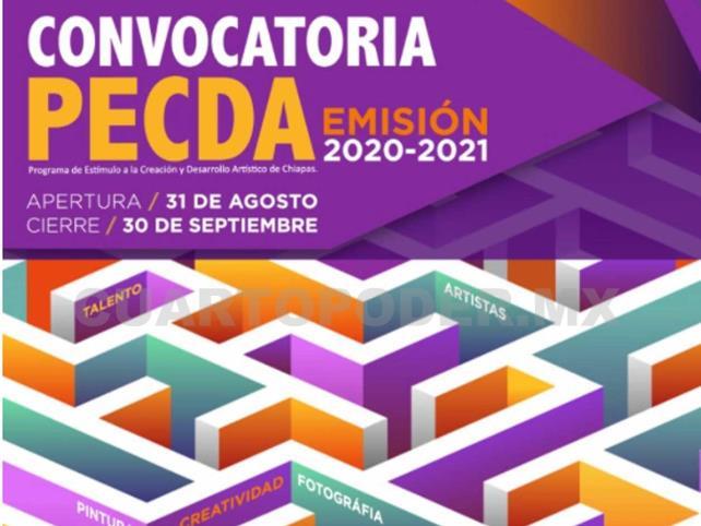Abren convocatoria Pecda 2020-2021