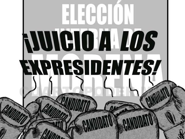 Calderón, Salinas y Peña, a la campaña de Morena