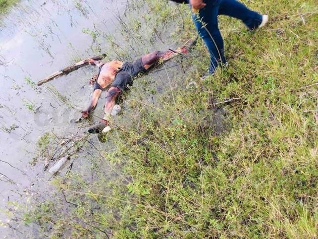 Cadáver de pescador flotaba en un afluente