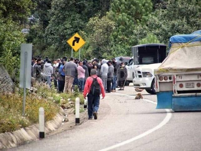 Con bloqueos, exigen liberación de Juan Shilón
