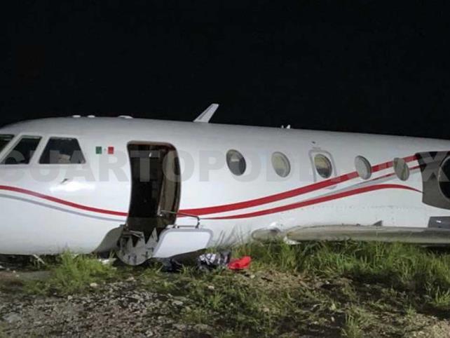 Investigan a detenidos de un narco jet