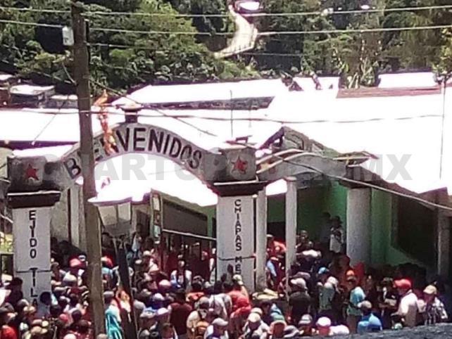 Se enfrentan pobladores y ejidatarios en Tila