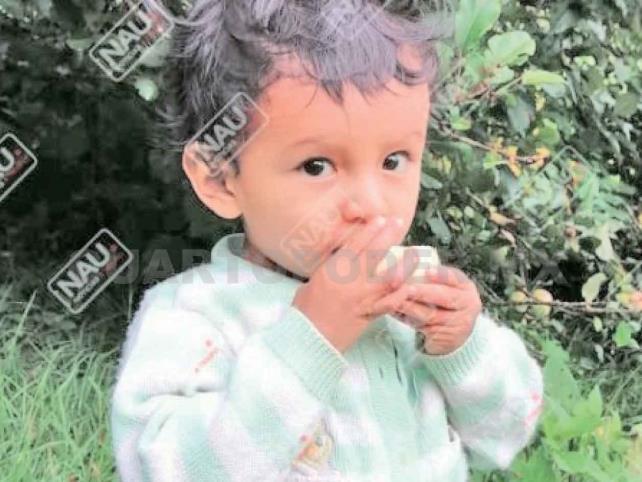 Desaparece niño de dos años en Tuzantán