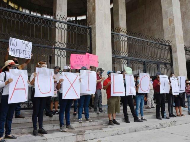 Pobladores piden investigar a grupos armados en Tila