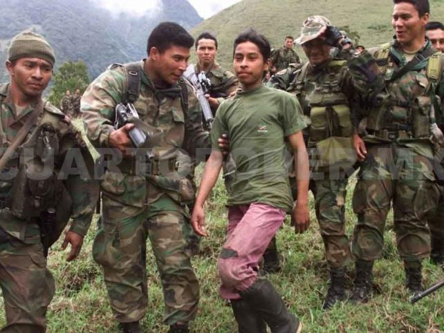 Difunden que FARC torturó y fusiló a niños