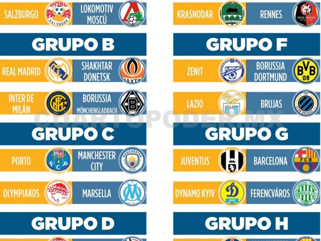 Definidos grupos de la próxima temporada