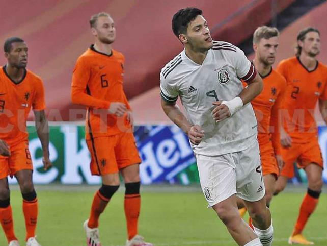 México vence a Holanda en juego de preparación