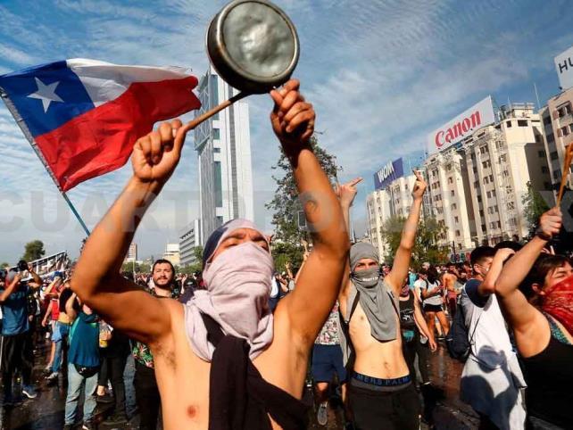 Revelan infiltración de narcotráfico en protestas