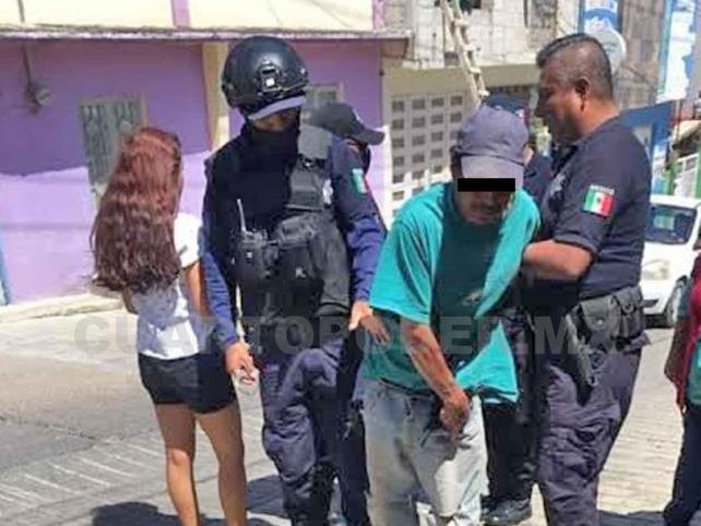 """Detienen a albañil por """"manosear"""" a jovencita"""