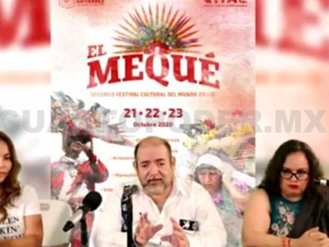 Anuncian segundo Festival del Mundo Zoque