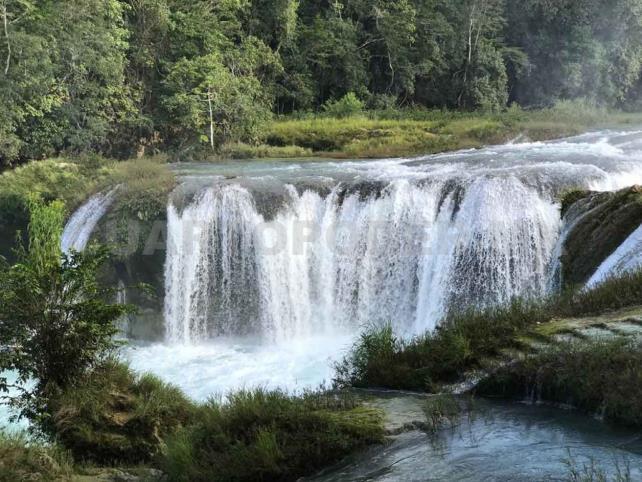 El paraíso de la selva que frenó la migración