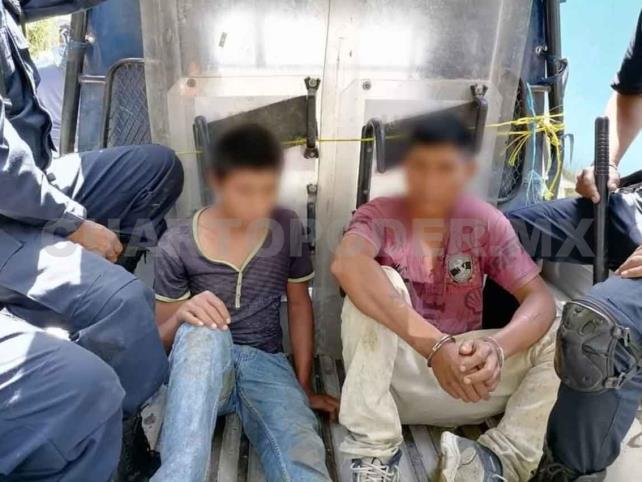 Entran a robar en Cobach y son detenidos por la policía