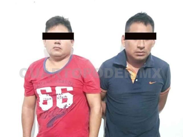 Capturan a tres personas por robo y extorsión