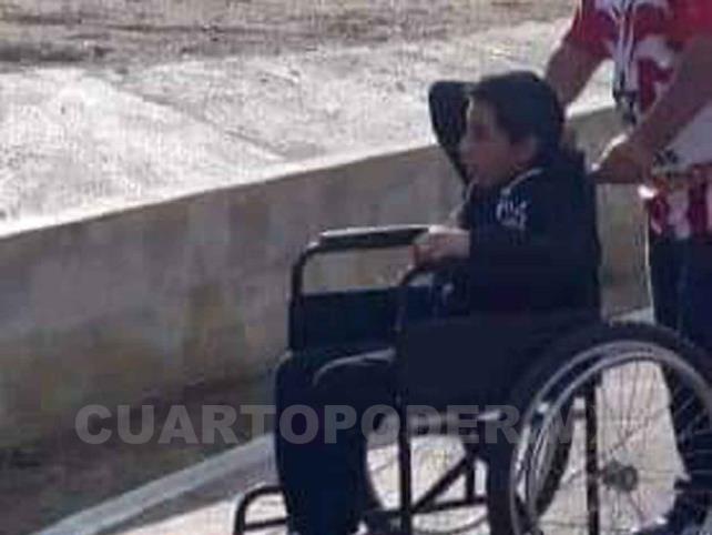 Ángel lucha por su vida:  tiene cavernoma cerebral