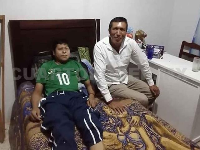 Neftalí, desempleado y enfermo, sin poder mantener a su familia