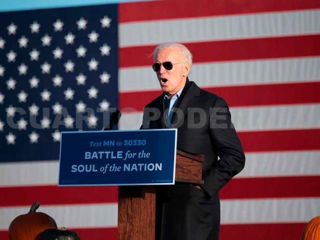 Aventaja Joe Biden en elecciones presidenciales