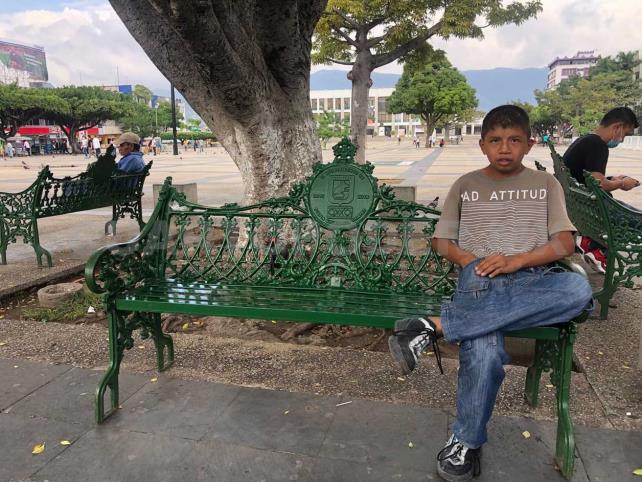 Manuel, el niño del parque