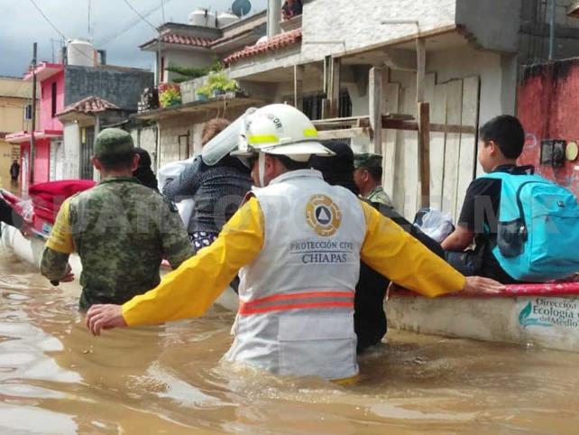 Daños por lluvias impactan en sectores vulnerables