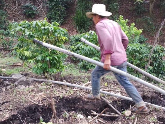 Se abre la tierra en Chilón