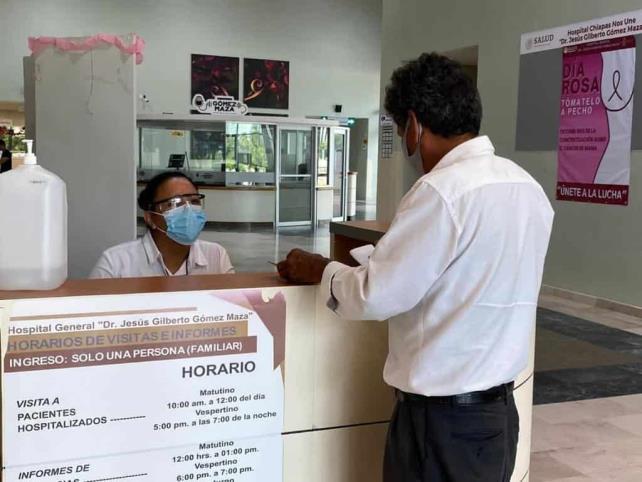 "Hospital ""Gómez Maza"" reinicia agenda para citas de consulta externa e imagenología"