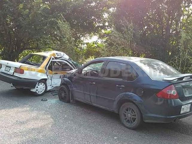 Un muerto y tres heridos en aparatoso accidente