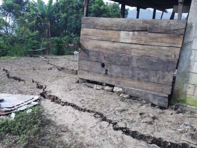 Familias del ejido Tacuba  Nueva exigen reubicación