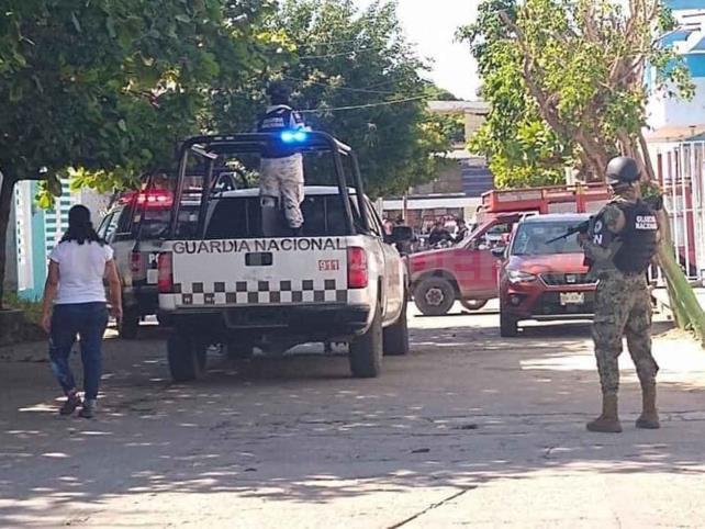 Armados huyen con las manos vacías tras movilización policíaca