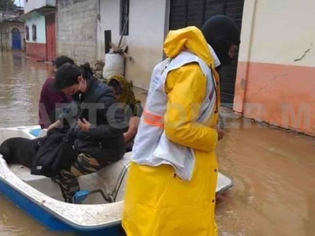 Fuertes lluvias vuelven a generar inundaciones