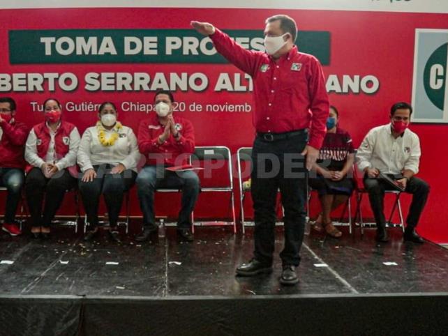 Roberto Serrano nuevo líder de la CNOP