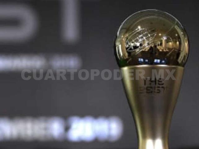 Entregará premios The Best de manera virtual